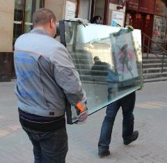 Установка больших стеклопакетов