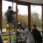 Замена холодного остекления балконов на тёплое