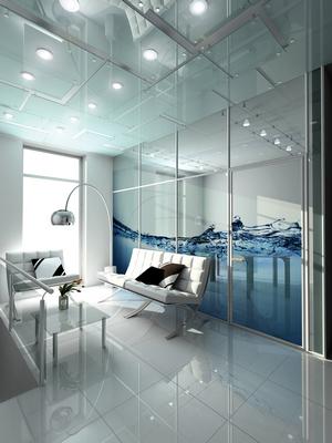 Демонтаж стационарных стеклянных перегородок