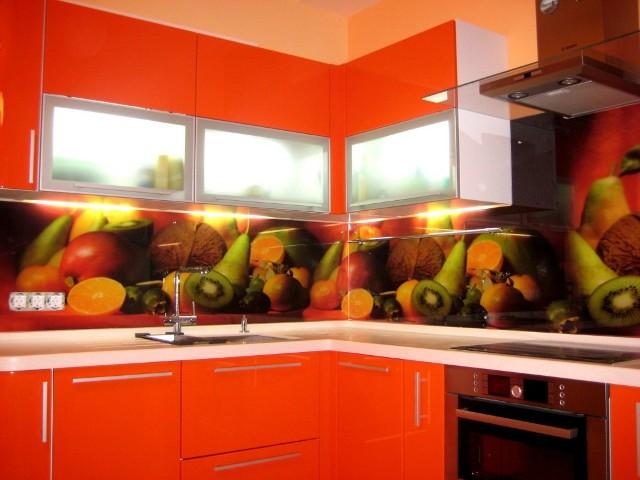 Скинали для кухни с фруктами