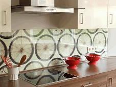 Кухонные фартуки из закаленного стекла