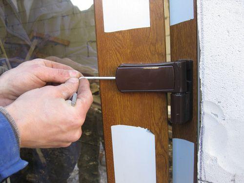 Ремонт дверей стеклопакетов (фото)