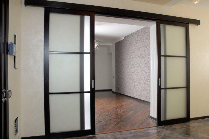 Заказать стекло в дверь